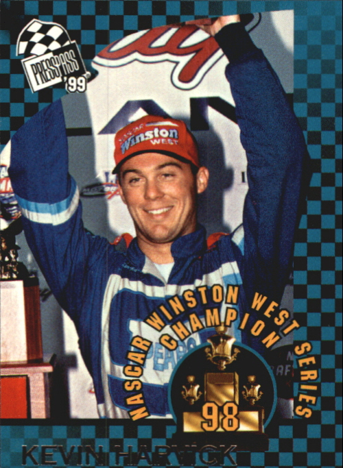 1999 Press Pass #76 Kevin Harvick Champ RC