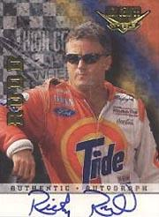 1999 Wheels High Gear Autographs #22 Ricky Rudd/350