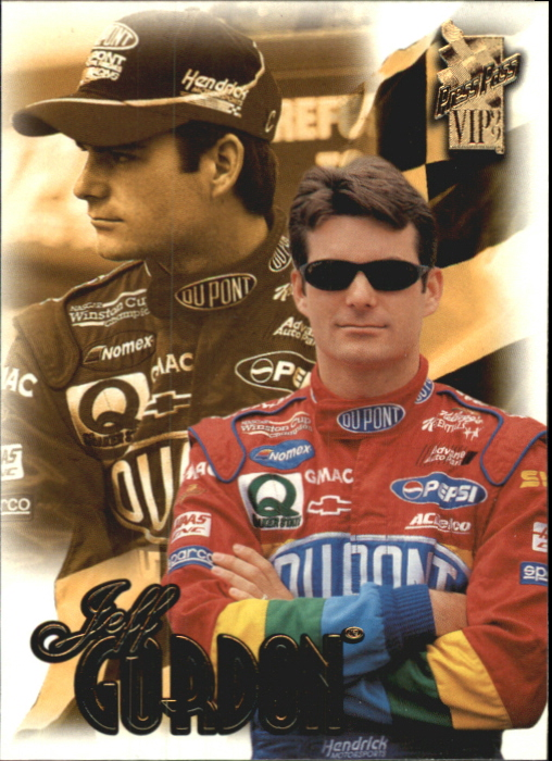 1999 VIP #8 Jeff Gordon