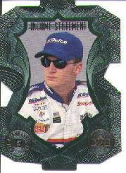 1999 Upper Deck Victory Circle Income Statement #IS15 Dale Earnhardt Jr.