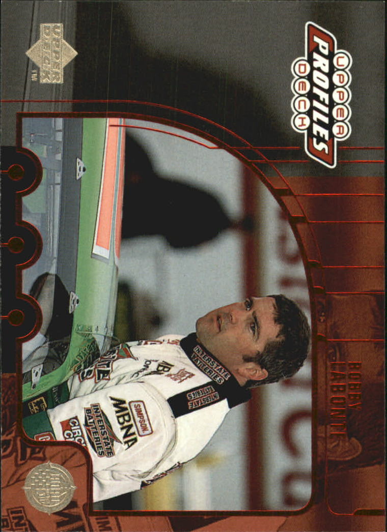 1999 Upper Deck Road to the Cup Upper Deck Profiles #P8 Bobby Labonte