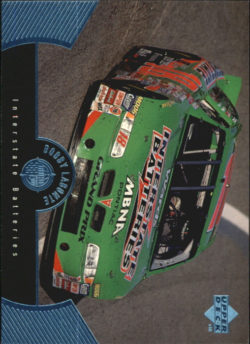 1999 Upper Deck Road to the Cup #38 Bobby Labonte's Car