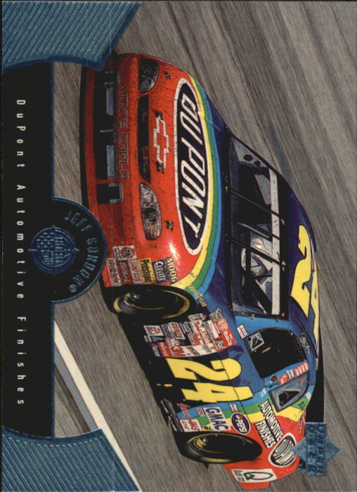 1999 Upper Deck Road to the Cup #43 Jeff Gordon's Car