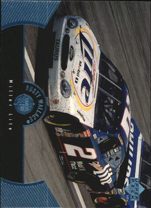 1999 Upper Deck Road to the Cup #59 Rusty Wallace's Car