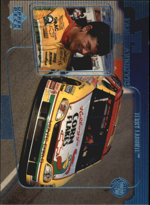 1999 Upper Deck Road to the Cup #62 Terry Labonte FF