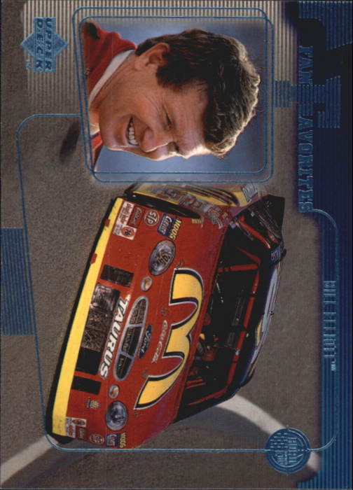 1999 Upper Deck Road to the Cup #65 Bill Elliott FF