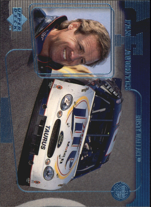 1999 Upper Deck Road to the Cup #75 Rusty Wallace FF