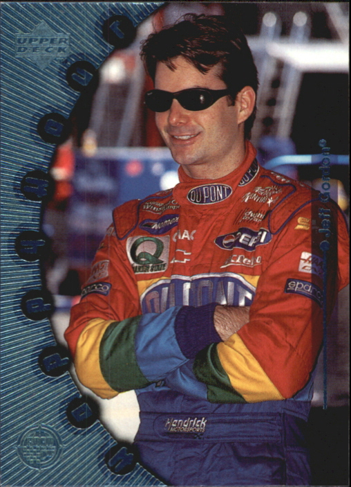 1999 Upper Deck Road to the Cup #77 Jeff Gordon HH
