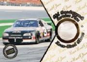 1999 Press Pass Stealth Race Used Gloves #G3 Dale Earnhardt&#039;s Car/30