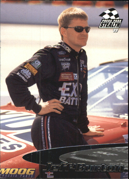 1999 Press Pass Stealth #1 Jeff Burton