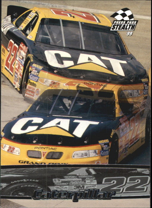 1999 Press Pass Stealth #5 Ward Burton's Car