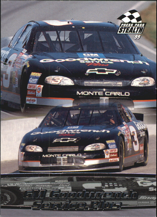 1999 Press Pass Stealth #8 Dale Earnhardt's Car