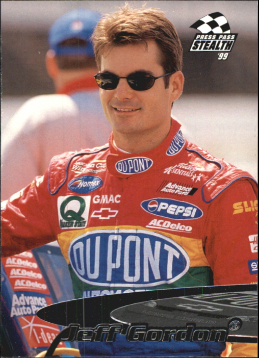 1999 Press Pass Stealth #10 Jeff Gordon