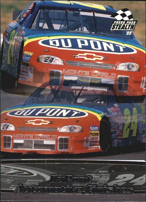 1999 Press Pass Stealth #11 Jeff Gordon's Car