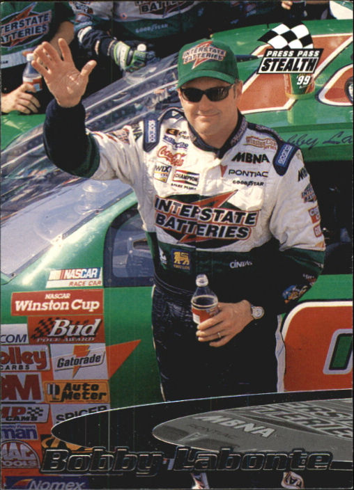 1999 Press Pass Stealth #16 Bobby Labonte