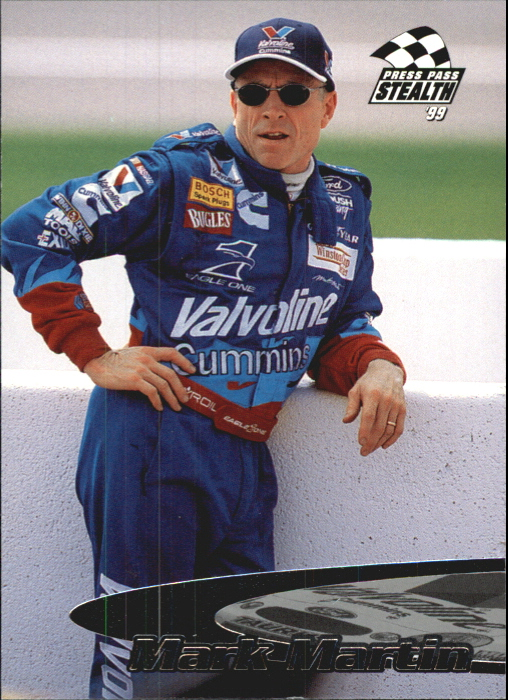 1999 Press Pass Stealth #22 Mark Martin