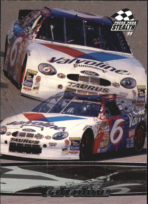 1999 Press Pass Stealth #23 Mark Martin's Car