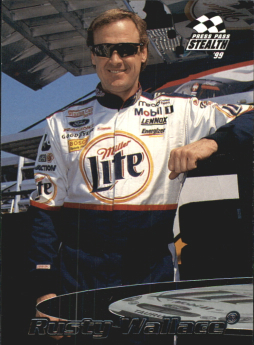 1999 Press Pass Stealth #34 Rusty Wallace