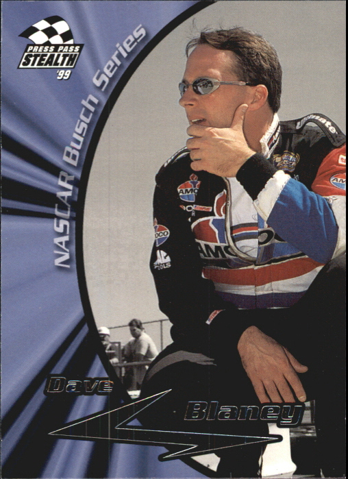 1999 Press Pass Stealth #38 Dave Blaney RC