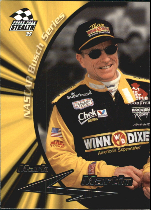 1999 Press Pass Stealth #45 Mark Martin