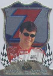 1999 Press Pass Premium Badge of Honor #BH3A Michael Waltrip