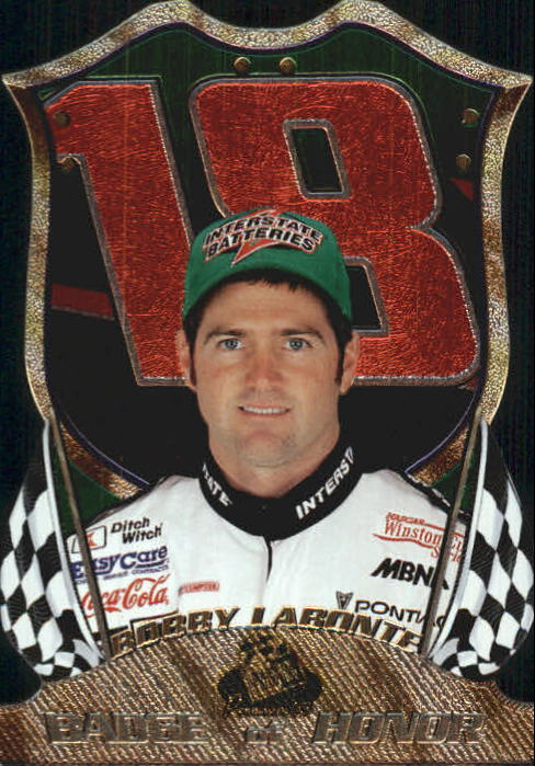 1999 Press Pass Premium Badge of Honor #BH9 Bobby Labonte