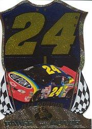 1999 Press Pass Premium Badge of Honor #BH24 Jeff Gordon's Car