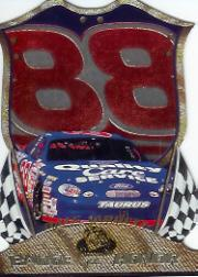 1999 Press Pass Premium Badge of Honor #BH25 Dale Jarrett's Car