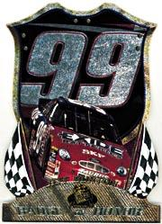 1999 Press Pass Premium Badge of Honor #BH27 Jeff Burton's Car