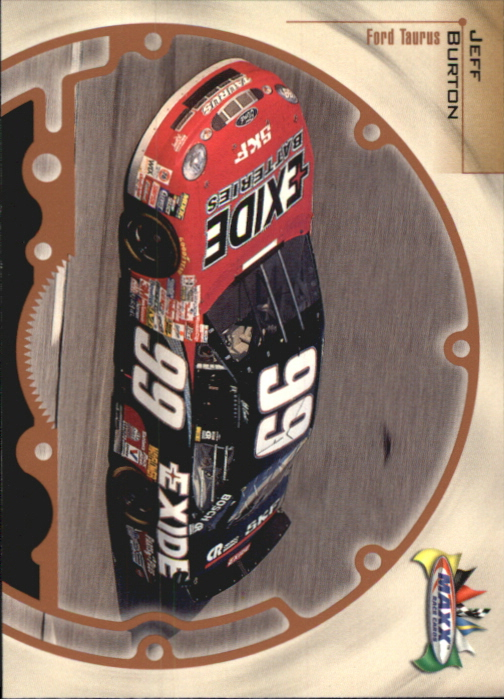 1999 Maxx #5 Jeff Burton's Car
