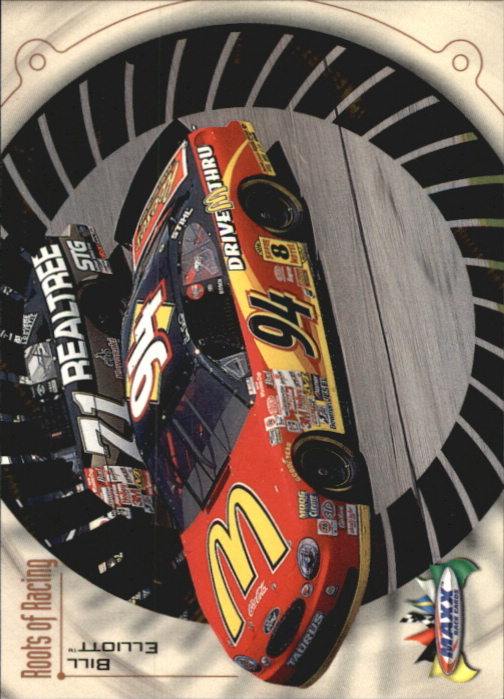 1999 Maxx #15 Bill Elliott's Car RR