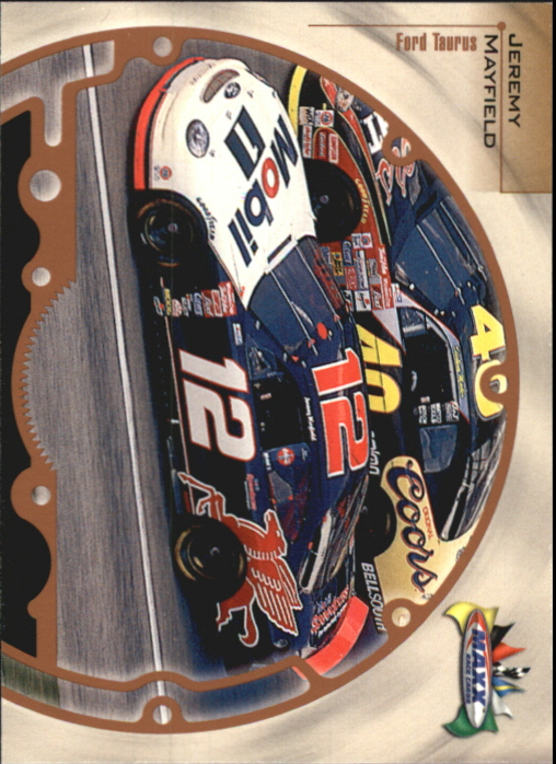 1999 Maxx #35 Jeremy Mayfield's Car