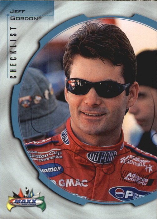 1999 Maxx #90 Jeff Gordon CL
