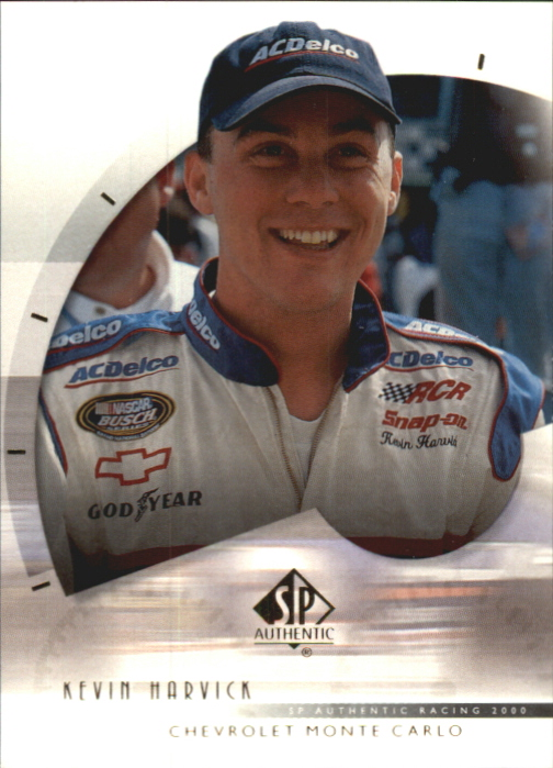2000 SP Authentic #44 Kevin Harvick