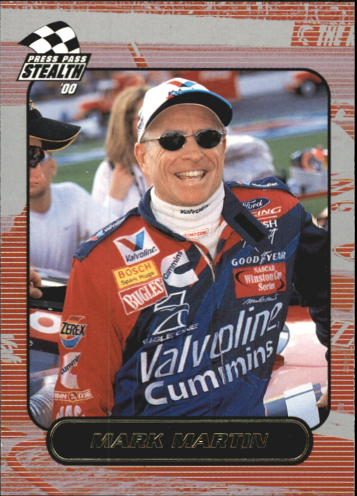 2000 Press Pass Stealth #13 Mark Martin