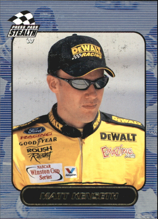 2000 Press Pass Stealth #22 Matt Kenseth CRC