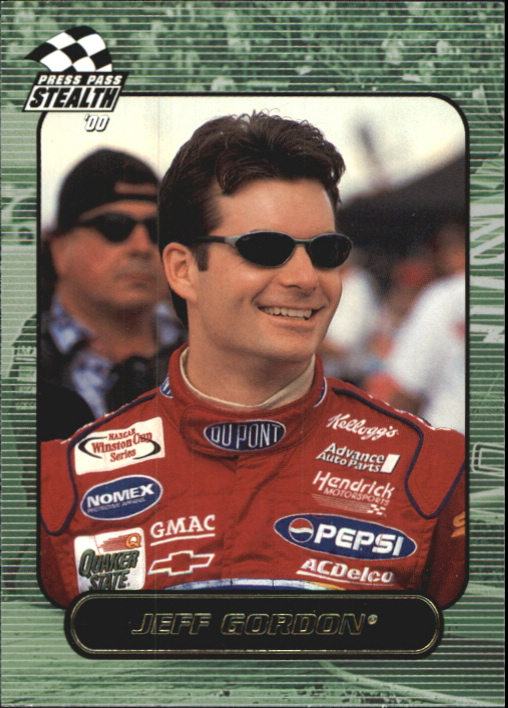 2000 Press Pass Stealth #34 Jeff Gordon
