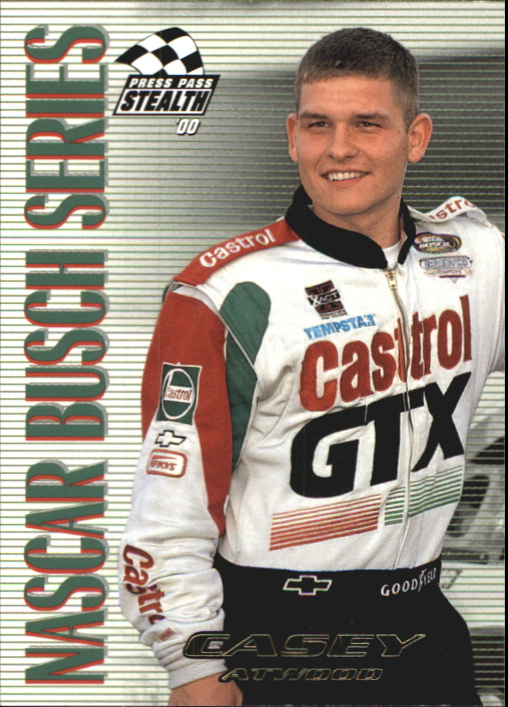 2000 Press Pass Stealth #55 Casey Atwood BGN
