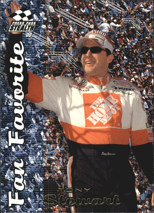 2000 Press Pass Stealth #66 Tony Stewart FF