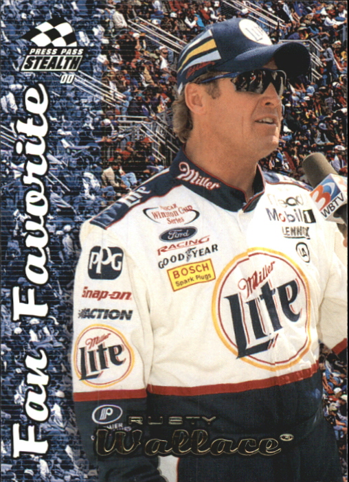 2000 Press Pass Stealth #71 Rusty Wallace FF