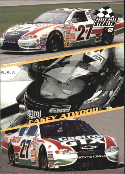 2000 Press Pass Stealth #72 Casey Atwood CL