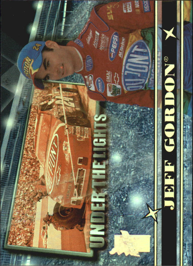 2000 VIP Under the Lights Explosives #UL1 Jeff Gordon