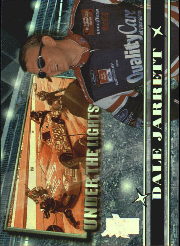 2000 VIP Under the Lights Explosives #UL2 Dale Jarrett