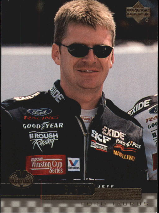 2000 Upper Deck Victory Circle #15 Jeff Burton