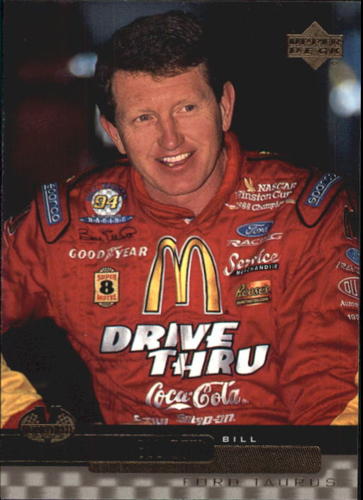 2000 Upper Deck Victory Circle #21 Bill Elliott