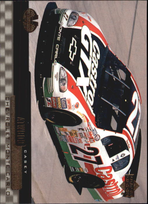 2000 Upper Deck Victory Circle #54 Casey Atwood's Car
