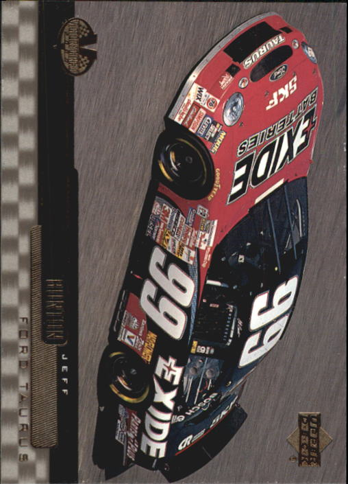 2000 Upper Deck Victory Circle #58 Jeff Burton's Car
