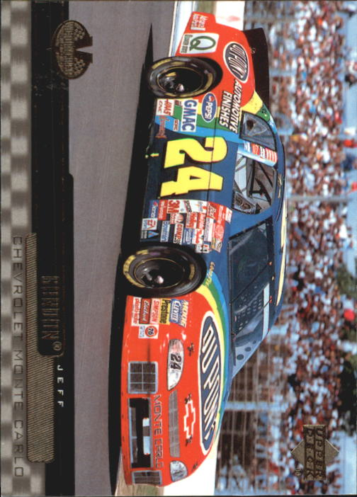 2000 Upper Deck Victory Circle #59 Jeff Gordon's Car