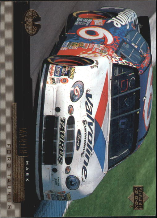 2000 Upper Deck Victory Circle #60 Mark Martin's Car