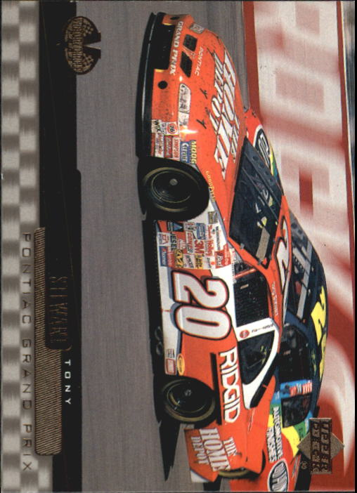 2000 Upper Deck Victory Circle #64 Tony Stewart's Car